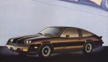 Monza-versionen av Corvair var populär, kanske var det därföa GM valde att kalla sin nya mellanklassare baserad på föregångaren Vega för Monza. Chevrolet Monza dök upp hösten 1974 som 1975 års modell och delade plattform med Buick Skyhawk, Oldsmobile Starfire och Pontiac Sunbird. Den fanns med fyror, V6:or och V8:or och med en rad olika karosser. 1980 lades tillverkningen ned i USA men fortsatte i bl a Brasilien några år till. Detta är en Monza Coupé från 1979.
