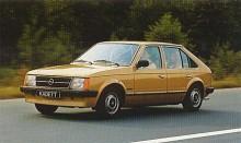Med Kadett D övergick Opel till framhjulsdrift för sina mindre modeller 1979. Bilen hade moderiktiga raka linjer och den gamla stötstångsmotorn byttes strax ut mot en nykonstruerad med överliggande kamaxel. Karossen var av halvkombityp även om det de första åren inte gick öppna hela bakstycket.