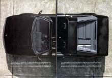 Bild ur originalbroschyren. En sällan använd vinkel. Kilformen tydlig även från satellit.