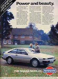 Till 1984 års Silvia hade motorutbudet eskalerat att förutom vanliga radfyror också kunna erbjuda tre olika turbomatade fyror och en 3 liters V6:a.