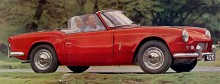 Spitfire4 presenterades hösten 1962 men hade varit i princip klar flera år tidigare, det var inte förrän nya ägaren Leyland gick in med mer pengar som Triumph hade råd att sätta den i produktion.