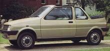 Den fristående karossmakaren Crayford hade gjort cabrioletversioner av folkbilar sedan 1962 och gjorde även ett försök med Mini Metro. Metro Politan hette modellen men inte många byggdes. Kolla färgskiftningen på demobilen.