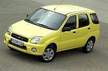 Justy 2006 - egentligen en Suzuki Ignis.