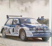 Rallyversionen Metro 6R4 delade bara siluetten med standardbilen. 6R4 byggdes för det gällande Grupp B-reglementet 1984 och lanserades 1985. Utvecklingen hade gjorts av Williams Grand Prix Engineering och involverade fyrhjulsdrift, en mittmonterad och nyutvecklad sexcylindrig motor med fyra överliggande kamaxlar. Metro 6R4 tilläts bara tävla i några månader till dess att Grupp B-bilarna förbjöds mitt under 1986 års säsong efter flera svåra olyckor och tillbud. Många av dessa vilddjur levde sedan vidare som svårslagna rallycrossbilar. Motorn hamnade sedermera - då försedd med dubbla turboaggregat - i Jaguar superbilsflopp XJ220, efter att konstruktionen sålts till Tom Walkinshaw Racing.