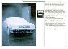 Cadillac Allanté ute i kylan. Det fick den vänja sig vid.