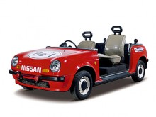En specialare byggd på Be-1. Användes vid idrottsevenemang och står idag på Nissans museum.