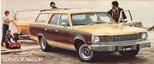 Givetvis fanns också en Matador Wagon, här från sista året 1978. Den hade alltid V8 medan sedanens basmotor var den raka sexa som är känd från CJ-7 med flera Jeepmodeller.