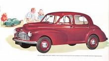 Som storebror till den samtidigt introducerade Morris Minor kom vid Londonsalongen1948 en helt ny Morris Oxford med internbeteckningen MO. Med kuggstångsstyrning och torsionsfjädring fram var den en utmärkt vägvagn. Motorn på 1,5 liter var med 42 hk något för svag, men den går till historien som den sist nykonstruerade sidventilaren.