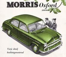 På våren 1954 avlöstes MO av Oxford series II. BMC hade nu bildats och den nya bilen hade därför den Austinmotor som kallas BMC B men var i övrigt helt konstruerad hos Morris. En kontroversiell lösning var att rattstången vinklats ut mot förardörren. Det skulle öka rymligheten i framsätet men många ogillade att ratten satt snett.