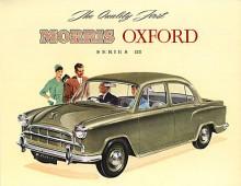 Inför 1957 kom Oxford series III som med små bakfenor och nya pressningar på motorhuven gjorts mindre bullig än föregångaren. Tekniskt var den oförändrad men invändigt hade det satsats på säkerhet genom försänkt rattnav och minimal polstring på instrumentpanelen. Den fanns också som kombi kallad series IV.