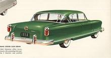 Styling var det som sålde bilar på 50-talet och badkaren gick inte så bra så Nash kallade in Pinin Farina. Han ritade en stramare kaross men Nash ville behålla sitt särdrag - de dolda hjulen. Den nya karossen debuterade 1952 och inga ändringar gjordes på 53:orna.