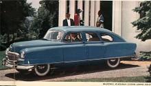 Nu är det 1951 och Nash har stramat till linjespelet något med antydan till fena bak. Statesman hade sidventilmotor på 173 CID och 78 HP. Den dyrare Ambassador var längre och hade toppventilmotor på 235 CID.