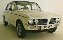 Triumph anammade också Sprint att kröna sin snabbaste version av familjebilen Dolomite. 2-litersmotorn med 16 ventiler lämnade 129 hk mot 92 hk i originalversionen. Tuffare fälgar och några stripes visade att det var en Sprint.