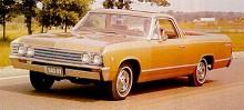 Efter 1960, alltså endast två års tillverkning lades El Camino på is.  1964 togs modellen upp igen på programmet men baserad på mellanklassaren Chevelle. Denna guldfärgade -67:a bär samma grunddrag, endast detaljförändrad och med en modifierad front.