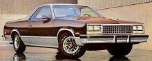 Den sist tillverkade El Caminon var en 1987:a  även om det är en 1986 på bilden. Inte mycket hade ändrats de sista tolv åren. 425 osålda bilar blev till slut sålda som 1988:or.