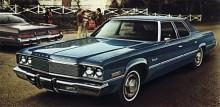 1974 var kantigheten gällande. Skapad med linjal och vinkelhake men fortfarande fullsize-kaross detta år, men till 1975 döptes dessa stora bilar om till Gran Fury.