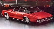 1973 var vecken många på den nydesignade karossen. Elegant ser den åtminstone ut att vara.