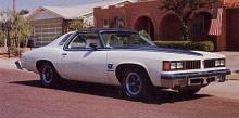 Med denna LeMans GT från 1977 får vi äntligen se lite muskler igen.