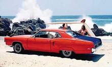 """Till 1969-70 var Marauder tillbaka för en kortare sejour igen. Det mesta av karossens grunddrag delades med Mercury Marquis men Marauder hade en unik bakdel med """"fender skirts"""" och en annorlunda bakruta. Denna bil var inte lika lätt och """"sportig"""" i linjespelet som den första versionen, utan sålde mer på att vara lyxig. Bilen på bilden är ändå just den sportigaste Marauder X-100 med kännetecknande mattsvart baklucka och 429 kubiktumsmotorn trimmad till 360 hk. En grym kärra!"""