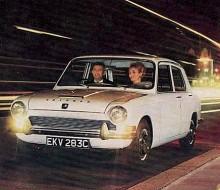 Triumph 1300. Framhjulsdriven.