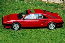 Ferrari Mondial har samma dörrhandtag som Alfa Spider.