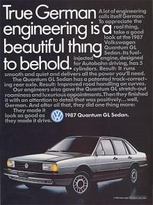 Främsta försäljningsargumentet för Quantum var att den var tysk.