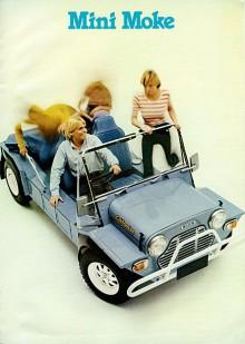 Mini Moke byggdes mellan 1968 och 1982 i Leylands australiska fabrik och såldes, i alla fall mot slutet, under namnet Moke Californian. Sedan flyttades tillverkningen till Portugal.