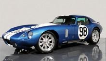 Shelby Cobra Daytona Coupé heter den täckta version som fanns redan på 60-talet. Det sluttande taket bidrog till högre toppfart, en av de viktigare aspekterna inom racing. Modellen finns återigen att beställa av Shelby.