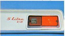 V8:an på fem liter var nedtrimmad till 112 bhp så det fanns utrymme för effektökning - innan avgiftningen satte in hade motorn i andra modeller utvecklat 210 bhp.