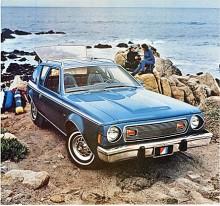 Gremlin var 1976 etablerad som en livsstilsbil för unga människor. I samarbete med jeansmärket Levi's fanns ett utrustningspaket med samma namn som innebar klädsel i blå denim.