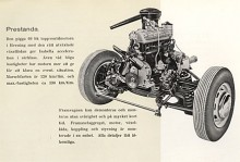 Isabella var modern när den kom med individuell fjädring och 1954 monterades motorpaketet i en genomtänkt hjälpram.