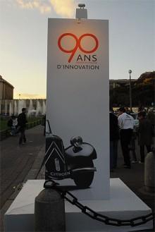 90-årsfirande i Paris