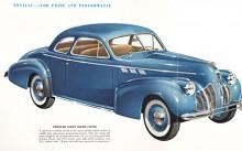 Pontiac Torpedo 1940 års modell.