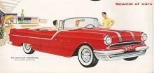 Pontiac var en helt ny bil 1955 med en ny och modern V8-motor. Pontiacs utveckling till prestandabil har börjat. Nu sitter Star Chiefs stjärnor på dörren men det fanns också en Star Chief Custom med ännu mera krom.