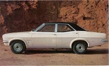 Formgivningen med coke-bottle shape delade Ventora med Victor FD men hade vinyltak och annan grill och dekor. Broschyren påstod att den gick som en sportvagn men var mycket bekvämare. Effekten uppgavs till 142 hk men det var enligt SAE-normen.