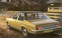 Bakifrån kan Ventora lätt förväxlas med en Opel Commodore men det finns inte en enda gemensam karosspanel. Ventora hade med kuggstång dessutom bättre styrprecision än sin tyska kusin.