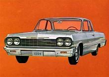 Biscayne följde modellbytena lika väl som de dyrare modellerna. Här en  Biscayne av1964 års modell.