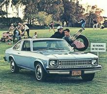 1975 dök fjärde generationen upp. Med motorer från en 2,5 liters fyra till en V8 på 5,7 liter eller 350 kubiktum. Denna sista stora Nova byggdes fram till1979 på sex olika fabriker varav den ena märkligt nog låg i Teheran, Iran!