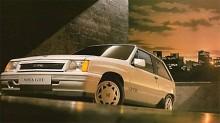 Vi ska heller inte glömma Vauxhall Nova, den engelska upplagan av Opel Corsa. Här har vi den i tufft GT/E-utförande och året är 1987. Vauxhall Nova byggdes mellan 1983 0ch 1993, numera heter modellen Corsa även i Vauxhall-utförande. Tack Tomas för påpekandet!