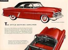 Ford Crestline Sunliner 1952.