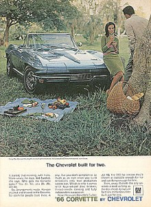 Cabrioleten är från 1966.