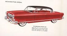 Med sina av Farina inspirerade former hade den långsträckta 52:an ett klart bättre utseende än de tidigare Airflyte men de inkapslade framhjulen fanns kvar. De sänkte luftmotståndet med knappa två procent.