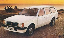 Men är det inte en Opel Kadett D? Nej det här är förstås en Vauxhall Astra, 1981.