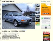 En Saab 9000 i ursprungsformen med rak nos och femdörrarskarosseri. Snart borta. Klurighet: Enorma innerutrymmen.