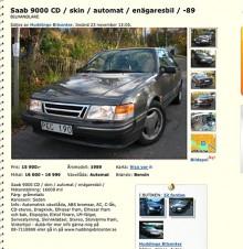 Fullsmetad Saab 9000 CD för 15900 kanske passar bättre? Klurighet: Framhjulsdrift.