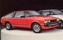 Här syns en Toyota Celica 1980 i liftbackversion. Den andra generationen Celica tillverkades mellan 1978-81.