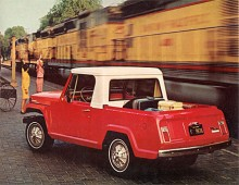 Med plasthardtopp över framsätet skapades enkelt en pick-up.