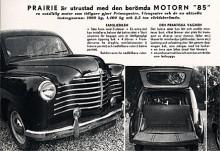Drygt 2,3 liters cylindervolym och 85 hk.