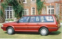 Kombiversionen var mycket rymlig tack var sitt ganska lådbetonade yttre. Den fanns i alla varianter, även som GTI med sportigt svärtad dekor.