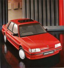 Nu är det 1990 och Montego som inte fick bli en Rover har ändå ett märke på motorhuven som är till förväxling likt Rovers sköld. Montego hade nu mognat och köptes knippvis av kostnadsmedvetna vagnparkägare.